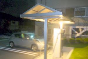 軽井沢町役場の充電スポット
