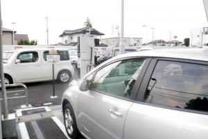 日産栃木の充電スポット