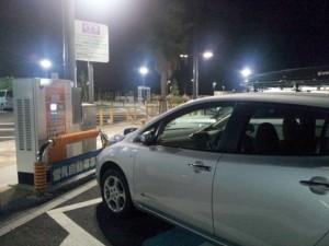 浜松SAの充電スポット