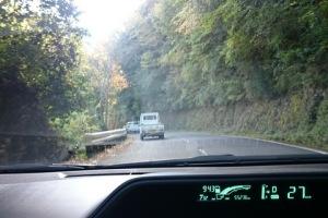 高野山の峠道